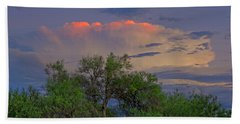 Hand Towel featuring the photograph Southeast Of Sunset H38 by Mark Myhaver