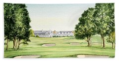 Southern Hills Golf Course 18th Hole Hand Towel