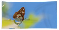 Southern White Admiral - Limenitis Reducta Bath Towel