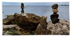 Southport Rock Art Hand Towel