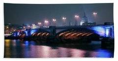 Southwark Bridge Bath Towel