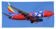 Southwest 737-7h4 N922wn Tennessee One Phoenix Sky Harbor November 28 2017 Hand Towel