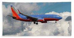 Southwest Airlines Boeing 737-700 Bath Towel