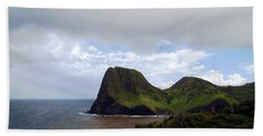 Bath Towel featuring the photograph Southwest Coast Of Maui by Patricia Griffin Brett