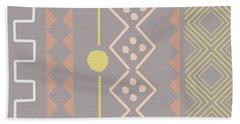 Southwest Decorative Design 7- Art By Linda Woods Hand Towel