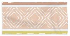 Southwest Decorative Design 8- Art By Linda Woods Hand Towel