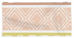 Southwest Decorative Design 8- Art By Linda Woods Bath Towel