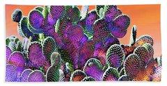 Southwest Desert Cactus Bath Towel