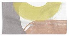 Southwest Modern Brushstrokes 2- Abstract Art By Linda Woods Bath Towel