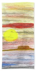 Southwest Moment Hand Towel by R Kyllo