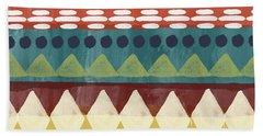 Southwest With Bears- Art By Linda Woods Bath Towel