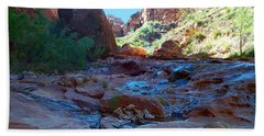 Sowats Creek Kanab Wilderness Grand Canyon National Park Hand Towel
