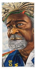 Soyinka An African Literary Icon Hand Towel