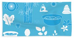 Spa Background Hand Towel