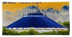 Space Mountain Hand Towel