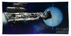 Spaceship To Neptune Bath Towel