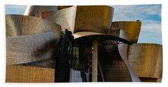 The Guggenheim Museum Spain Bilbao  Hand Towel