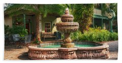 Spanish Fountain Bath Towel