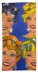 Sparkle Hand Towel by Marilyn Jacobson