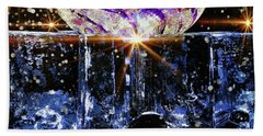 Sparkling Glass Hand Towel