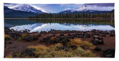 Hand Towel featuring the photograph Sparks Lake by Cat Connor