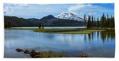Sparks Lake, Oregon Hand Towel