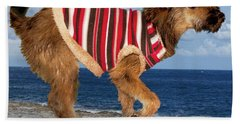 Sparky Hand Towel by Al Bourassa