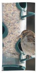 Sparrow And Seed Bath Towel