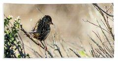 Snarky Sparrow Hand Towel