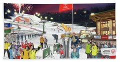 Special Olympics Winter Games Hand Towel