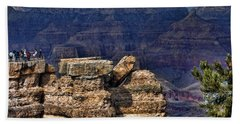 Hand Towel featuring the photograph Spectacular Grand Canyon by Roberta Byram