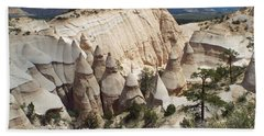 Spectacular Slot Canyon Trail View-at-the-top Bath Towel by Cindy Croal