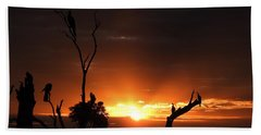 Spectacular Sunset Hand Towel by Betty-Anne McDonald