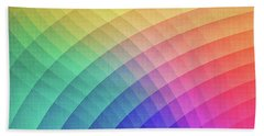 Spectrum Bomb Fruity Fresh Hdr Rainbow Colorful Experimental Pattern Bath Towel