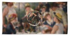 Sphere 4 Renoir Bath Towel by David Bridburg