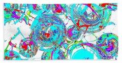 Spheres Series 1511.021413invfddfs-sc-2 Bath Towel by Kris Haas