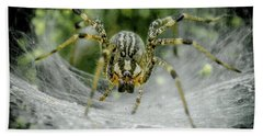 Spider Hand Towel by Henri Irizarri