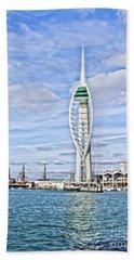 Spinnaker Tower Portsmouth Bath Towel