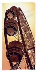 Spinning Like A Ferris Wheel Hand Towel by Glenn McCarthy Art and Photography
