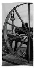 Spinning Wheel At Mount Vernon Bath Towel