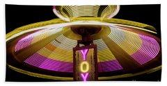 Spinning Yoyo Ride Hand Towel