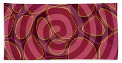 Spiral 2 - Abstract Painting Bath Towel
