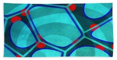 Spiral 5 - Abstract Painting Bath Towel