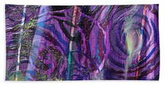 Spiral Detail From Annunciation Hand Towel
