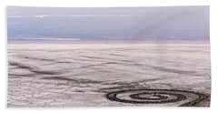 Spiral Jetty - Great Salt Lake - Utah Hand Towel