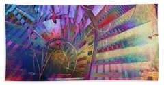 Spiral Staircase Hand Towel