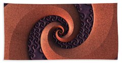Spiralicious Hand Towel by Lyle Hatch