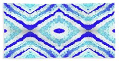 Spirit Journey To The Other Side  Hand Towel by Rachel Hannah