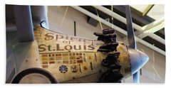 Bath Towel featuring the photograph Spirit Of St Louis by John S