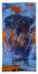 Spirit Of The Buffalo Hand Towel